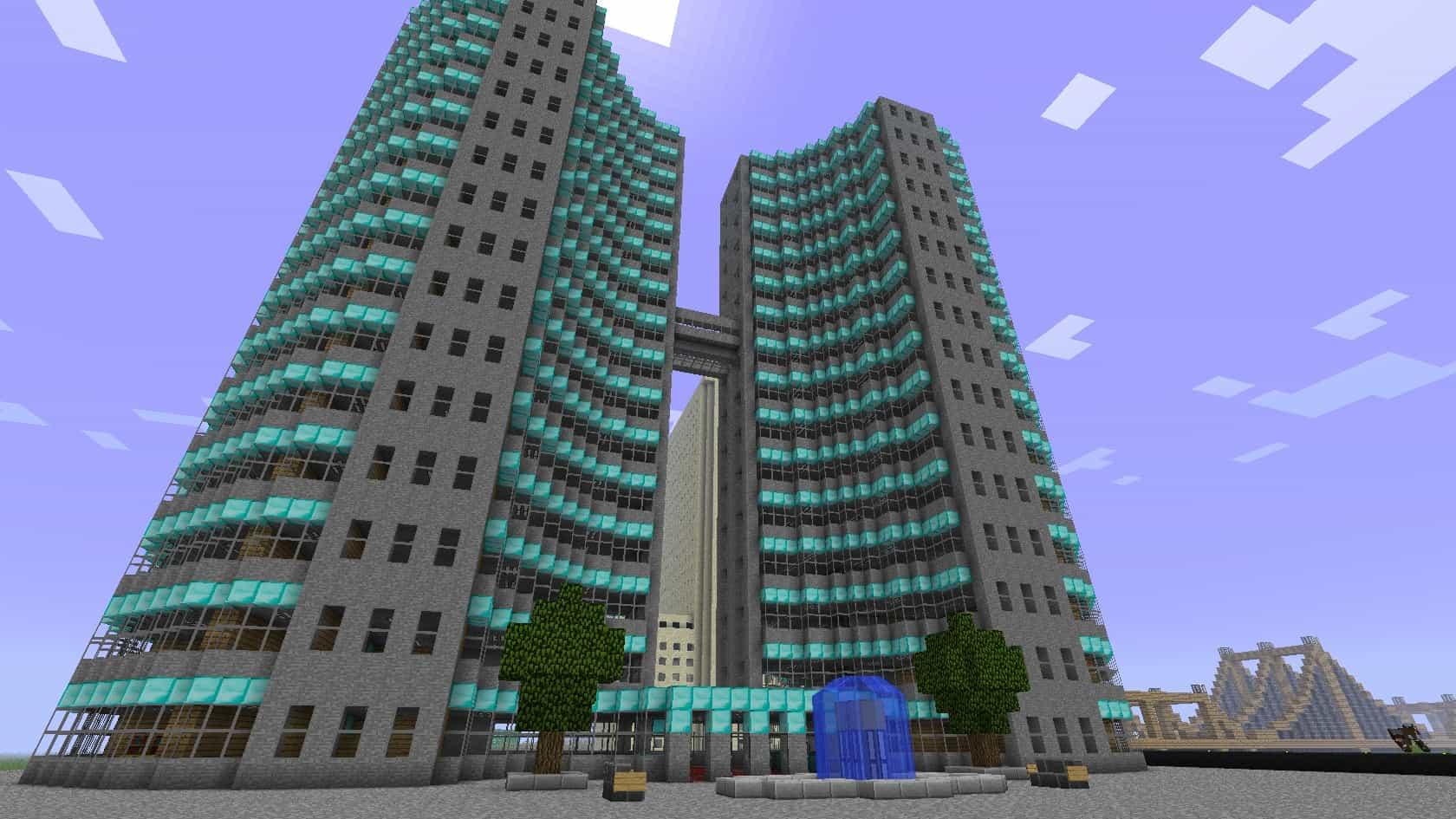 Huge Office Building - Minecraft Building Inc
