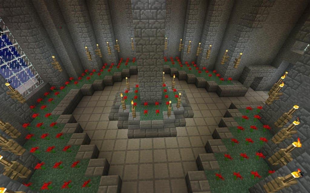 Castlevania inspired Rose Garden
