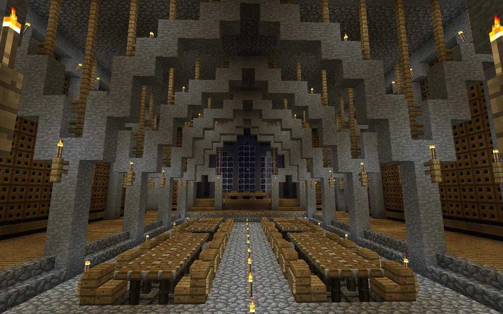 Medieval castle minecraft building inc for Dining room designs minecraft