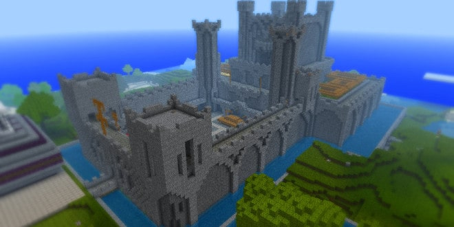 minecraft_castle_on_my_server_by_schweinekruste-d46lqjt