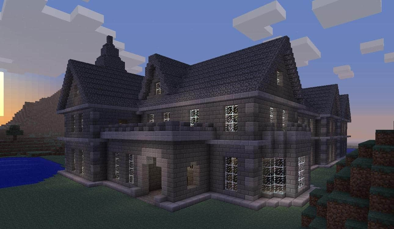 Mount falcon manor house minecraft building inc for How to build my house