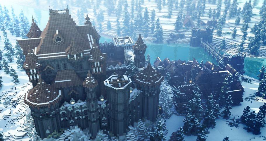 Minecraft game of thrones build castle 2