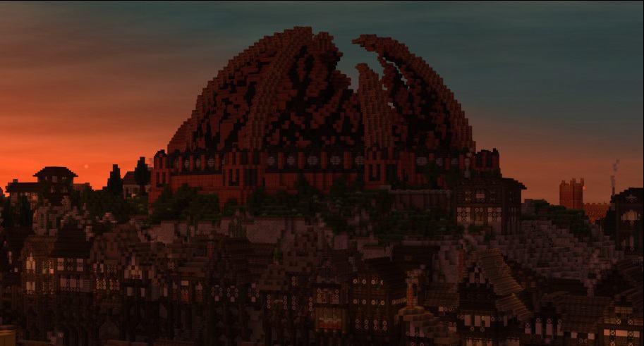 Minecraft game of thrones build castle 5