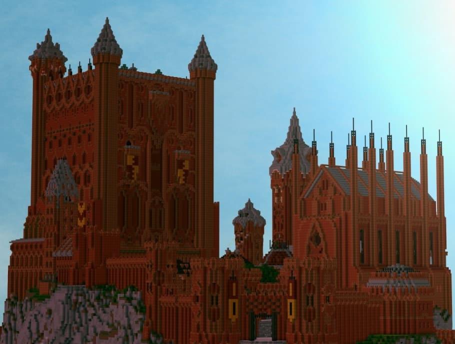 Minecraft game of thrones build castle 6