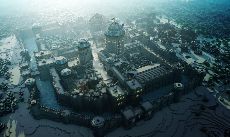 Minecraft game of thrones build castle