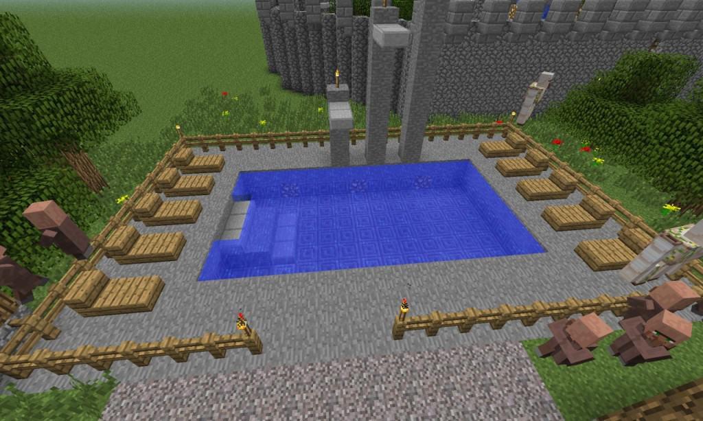 Community Pool Minecraft Building Inc