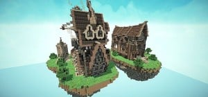 Steampunk Style Map Pack Minecraft build world 2