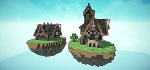Steampunk Style Map Pack Minecraft build world 3