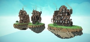 Steampunk Style Map Pack Minecraft build world 5