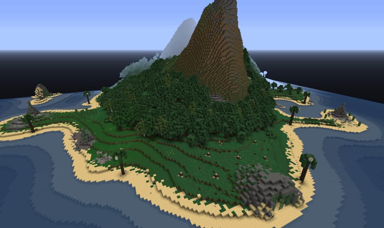 карты для майнкрафт острова #9