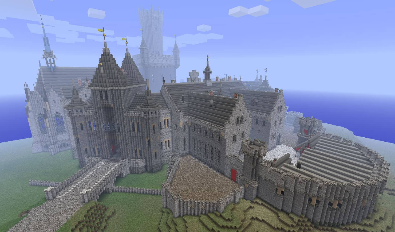 amazing castle minecraft 3
