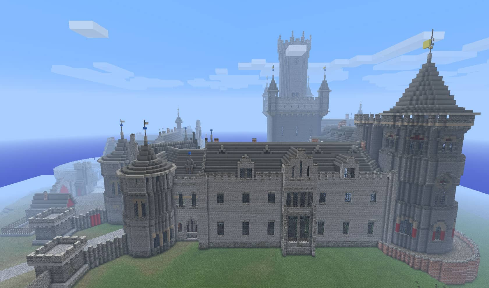 A Kings Castle Minecraft Building Inc