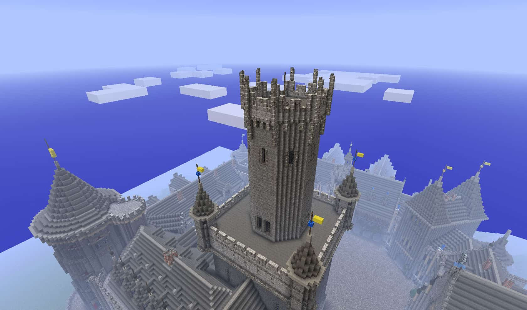 amazing castle minecraft 8