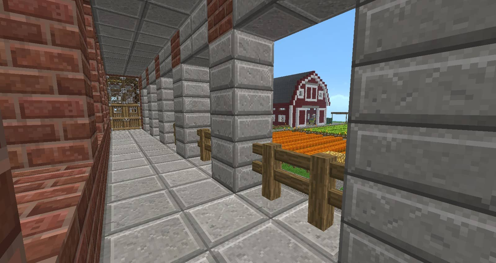 Redwood Farm Minecraft Building Inc