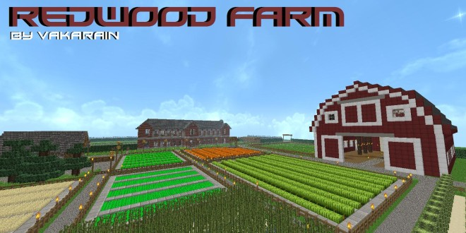 redwood farm  u2013 minecraft building inc