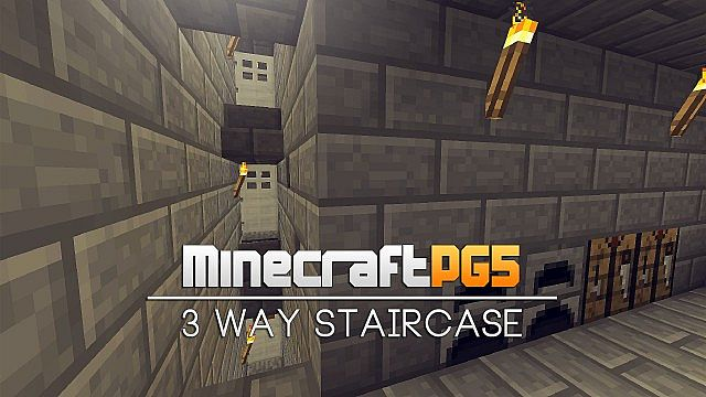 Photo of 3 Way Staircase