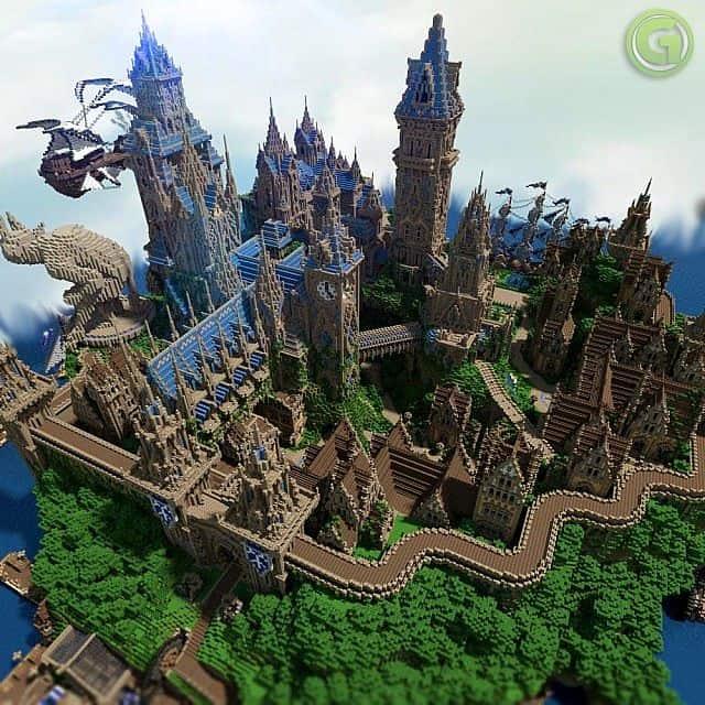 Halion Gazamo Minecraft Build 3