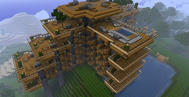Hillside Manor World Minecraft Building Inc