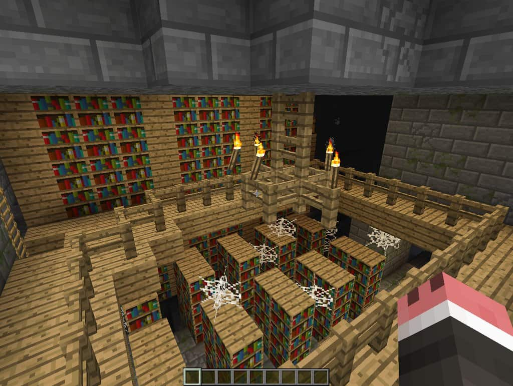 Photo of Library, portal, and diamonds Seed