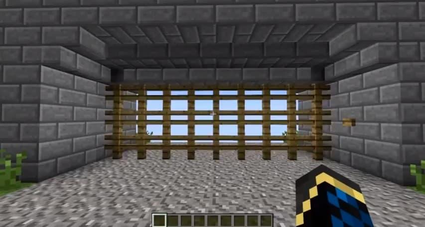 Fast Castle Gate Minecraft Building Inc