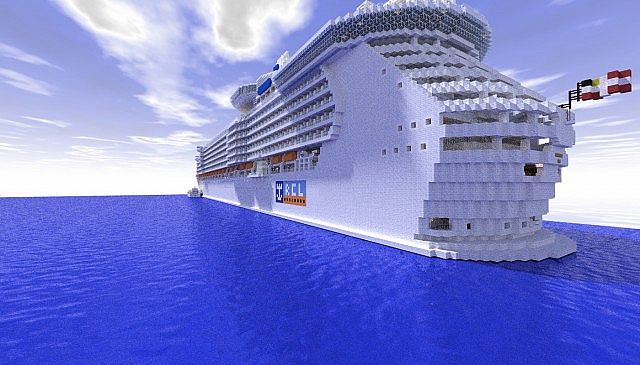 Royal Caribbean Boat Build Minecraft 3 Minecraft