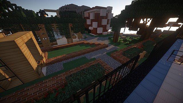 Luxurious Modern House 2 minecraft build ideas 15