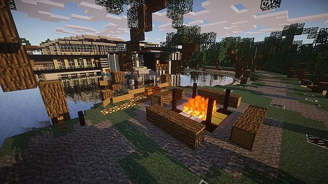 Luxurious Modern House 2 minecraft build ideas 3