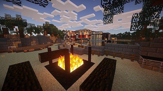 Luxurious Modern House 2 minecraft build ideas 5