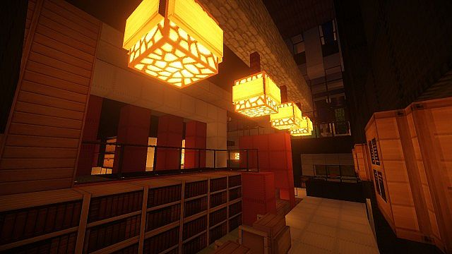Luxurious Modern House 2 minecraft build ideas 7