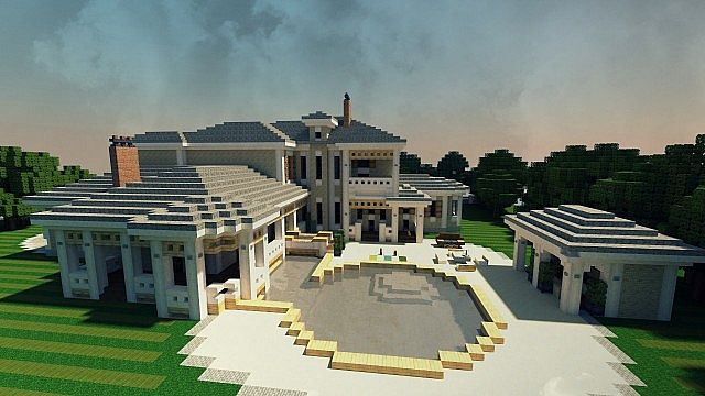 Plantation mansion house minecraft building inc for Building on to my house