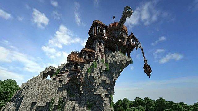 Warhammer Reik River Observatory minecraft build ideas 5