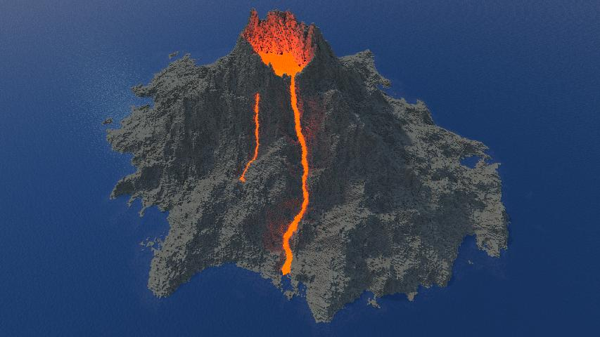 Photo of Realistic Volcano