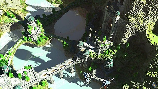 Aeron - City of the Skyknights Minecraft building ideas 2
