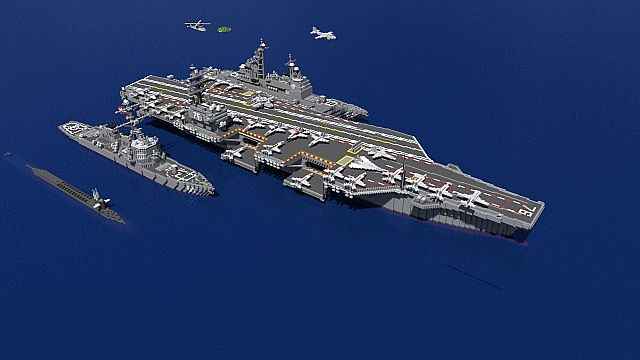plane battle in minecraft with Carrier Strike Group Uss Ronald Regan More on 2nd November 1943 Bloody Tuesday Attack On Rabaul Harbour in addition Watch furthermore Kotor Class Armored Battlecruiser additionally Watch as well Battleship Maryland Bb 46.