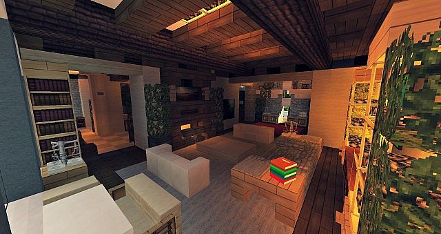 Craftsman Mansion House Minecraft building ideas 5