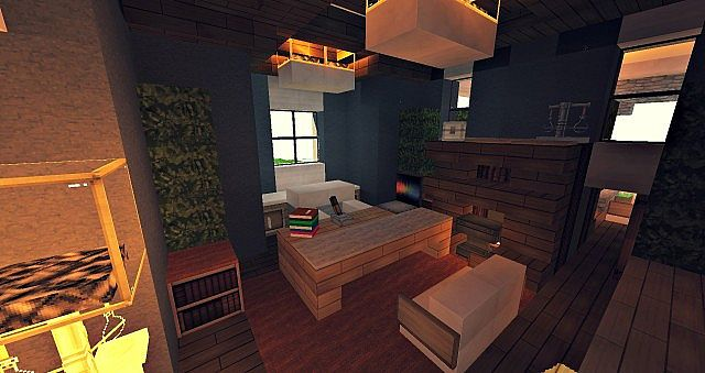 Craftsman Mansion House Minecraft building ideas 6