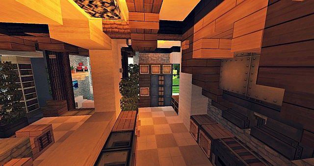 Craftsman Mansion House Minecraft building ideas 7