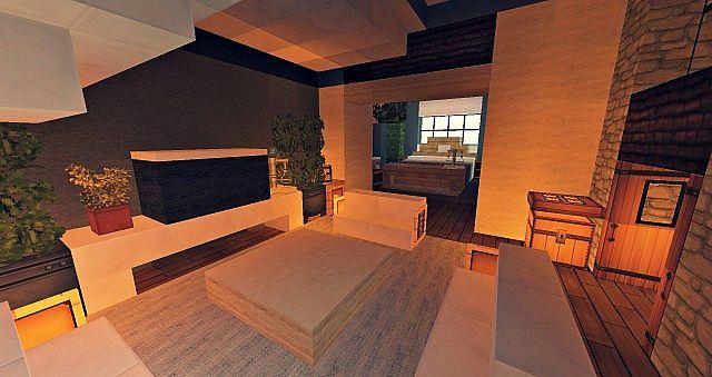 Craftsman Mansion House Minecraft building ideas 8