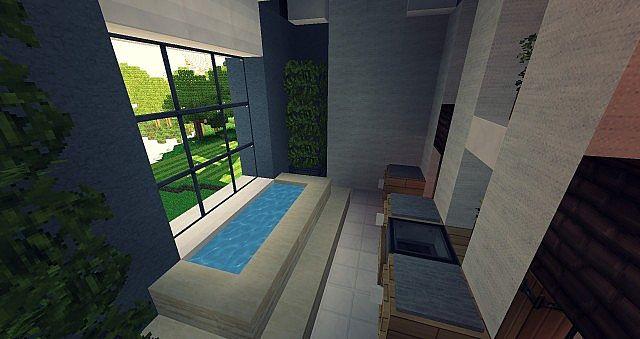 Craftsman Mansion House Minecraft building ideas 9