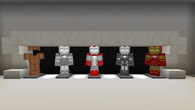 Iron Man 2 Texture Resource Pack 2.1 Minecraft 3