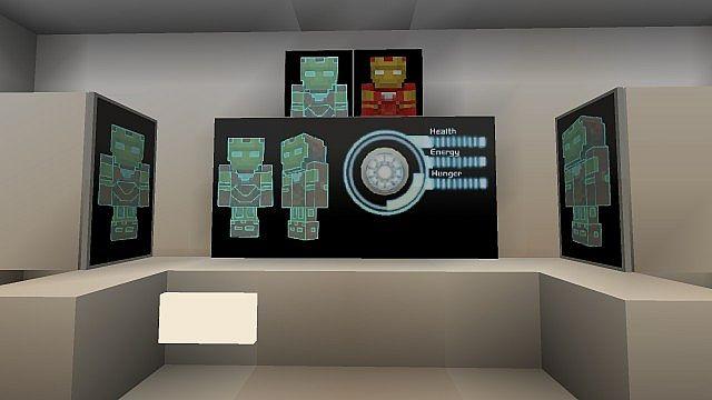 Iron Man 2 Texture Resource Pack 2.1 Minecraft 4