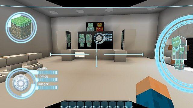 Iron Man 2 Texture Resource Pack 2.1 Minecraft