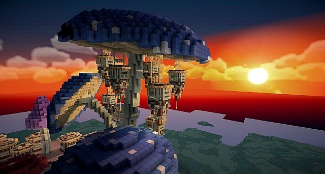 Pollux mushroom world build minecraft ideas kingdom 14