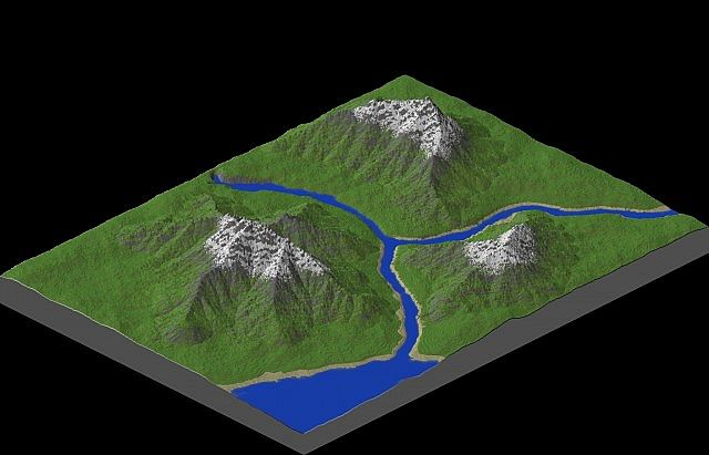 River of Thyia - Custom Terrain Minecraft 3
