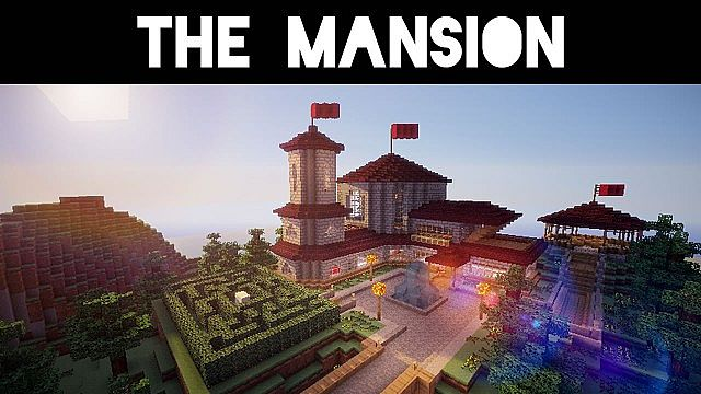 The Couple's Mansion Minecraft house build