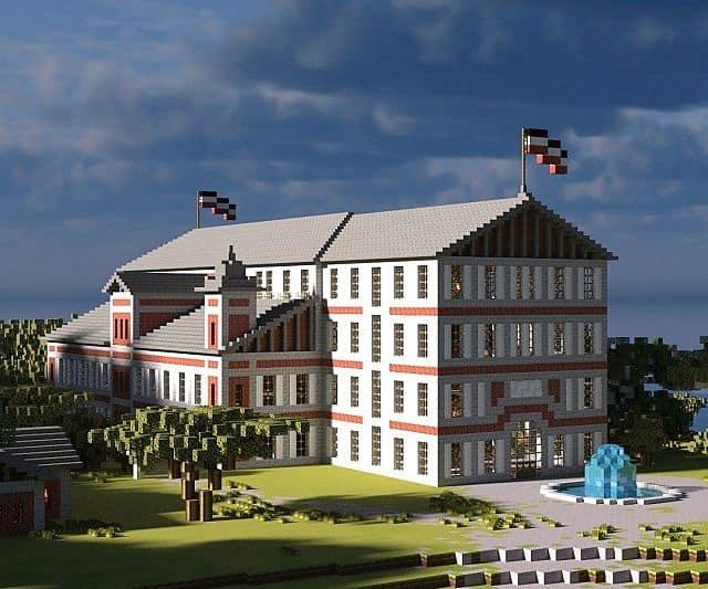 The Gouverneurs House minecraft building ideas