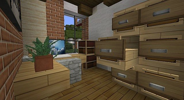 Townhouse Traditional Minecraft Build 5