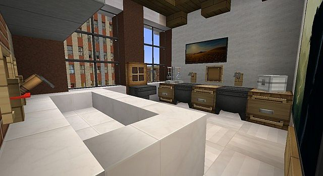 Townhouse Traditional Minecraft Build 7