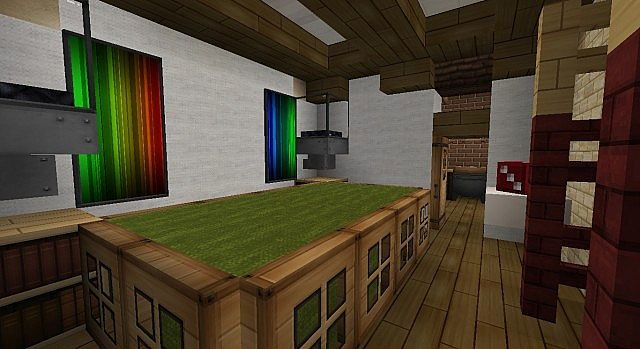 Townhouse Traditional Minecraft Build 9