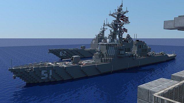 carrier strike group batttleships ships minecraft building ideas ocean sea 4